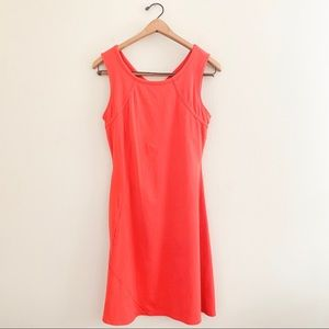 Mountain Hardwear Coral Red Casual Athletic Dress